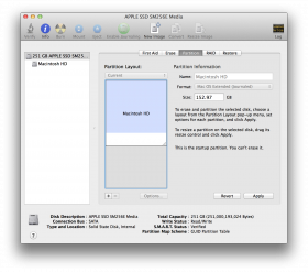 Mac OSX Partition